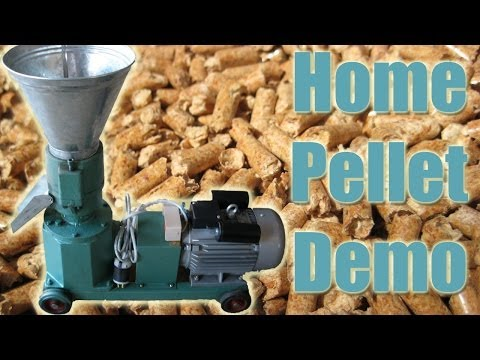 LIVE DEMO! - Make Pellets at Home with Pellet Pros