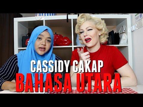 Minah Saleh Cakap BAHASA UTARA - Cassidy La Creme ft. Arin Noor