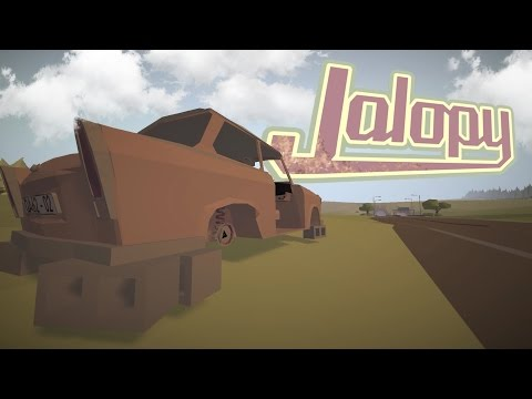 Jalopy Gameplay ep 1 - ROAD TRIPS & ROAD RAGE! - Let's Play Jalopy Part 1