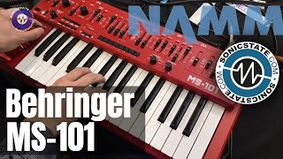 NAMM 2019 Behringer MS-101 No Talking