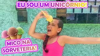 CASQUINHA DE SORVETE NA TESTA, VIREI UM UNICÓRNIO! #JUJURESPONDE5