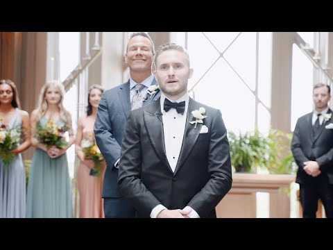 This Groom Has The Purest Reaction To Seeing The Bride | BSR Wedding Films