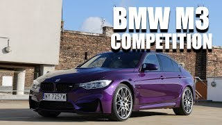 BMW M3 Competition Pack (ENG) - Test Drive and Review