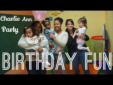 KIDS HAVING FUN AT OUR CLOSE FRIEND BIRTHDAY PARTY/JACE CHANNEL// JODIKFAM