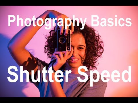 Shutter Speed - Photography Basics and Terminology Part 1.