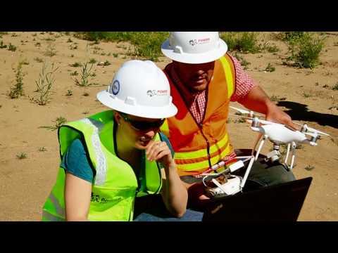 POWER's Drone Pilots at Large Commercial Solar Farm