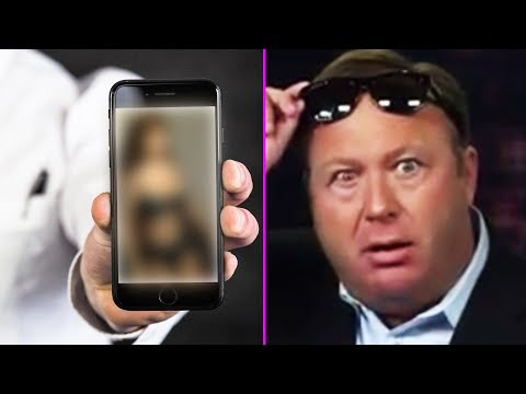 Alex Jones Caught Watching T-Girls