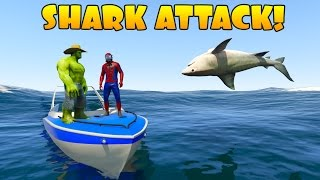 Hulk and Spiderman Learn animals 3D cartoon for Kids and children!