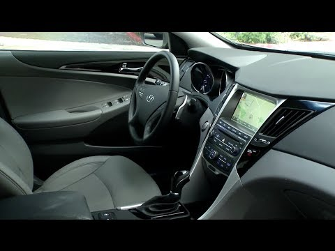 2014 Hyundai Sonata Interior Review Youtube
