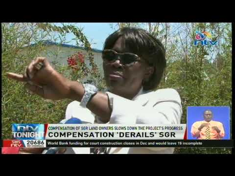 Compensation of SGR land owners slows down the project's progress