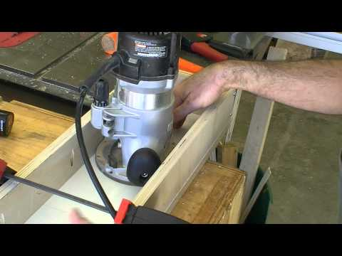 Nick Offerman's Router Sled Leveling Jig // How-To (Ep. 8)
