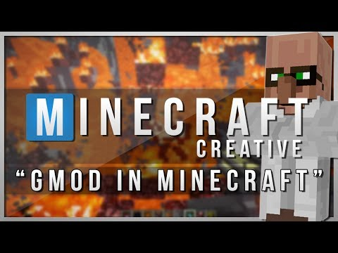 Minecraft Creative | GMOD IN MINECRAFT! | Mods Showcase