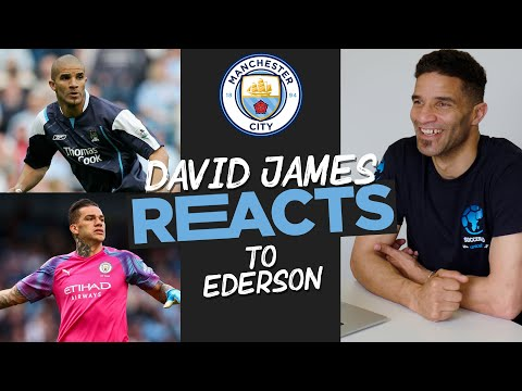 David James REACTS to Ederson & *THAT* time he played up front...