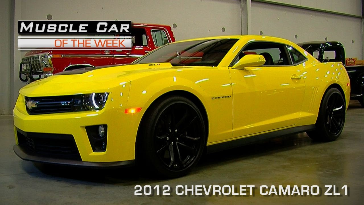 Lovely Muscle Car Of The Week Video Episode #105: 2012 Chevrolet Camaro ZL1    YouTube