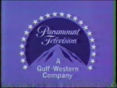 Paramount Television A Gulf Western Company Logo