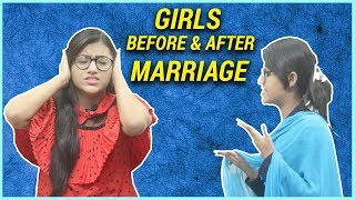 Girls Marriage Before Vs After | Samreen Ali