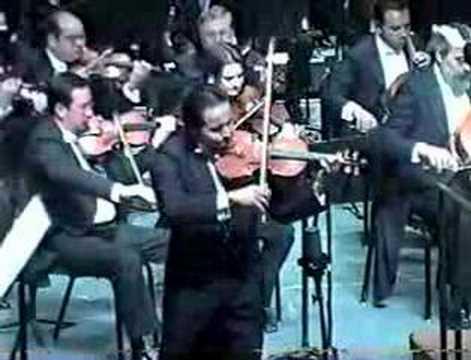 Erasmo Capilla - Tchaikovsky Violin Concerto 1st mov. part 2