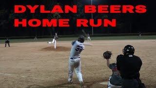 DYLAN BEERS FIRST HOME RUN 2019 FOR CRUSADERS BASEBALL CLUB