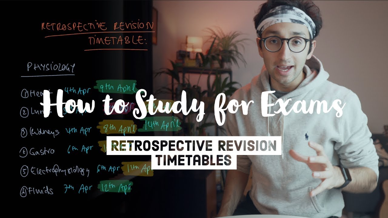 Download How to study for exams - The Retrospective Revision Timetable
