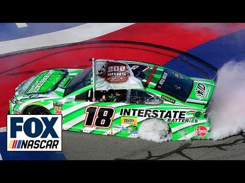 Kyle Busch claims 200th career NASCAR victory after an impressive Fontana run | NASCAR on FOX