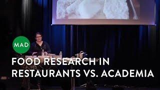 Food Research in Restaurants Vs. Academia   Arielle Johnson