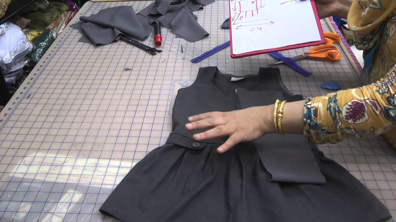 Design And Measurements For A School Uniform Youtube