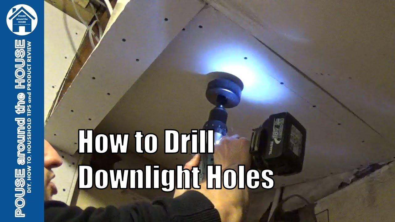 How to install downlighters/downlights. LED downlight installation. (Part 1) - YouTube  sc 1 st  YouTube : installing downlights wiring - yogabreezes.com
