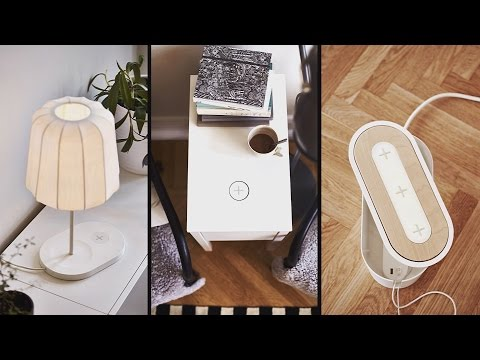 Review Ikeas Wireless Charging Furniture
