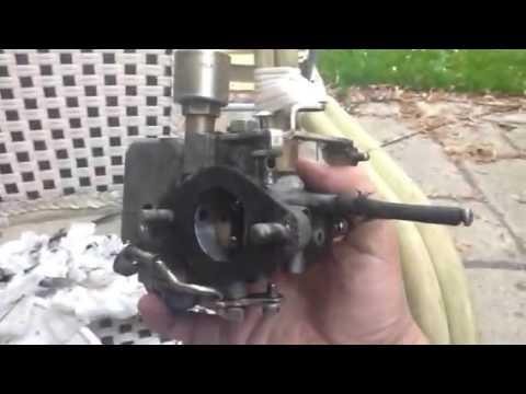 Vw beetle/camper carb  clean Bocar  34 pct