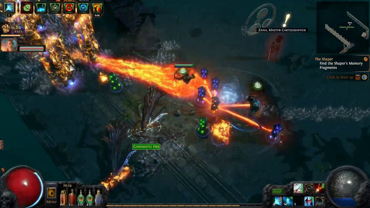 Path of Exile Tier 6 Wharf Map Co-op