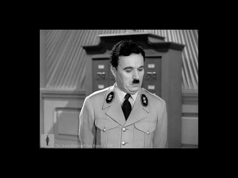 Charlie Chaplin - Hynkel Dictating Letter To Stenographer - The Great Dictator