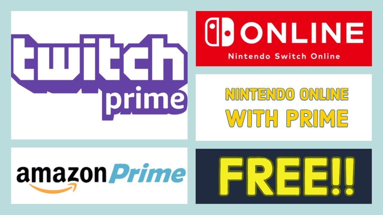 free nintendo online with twitch prime