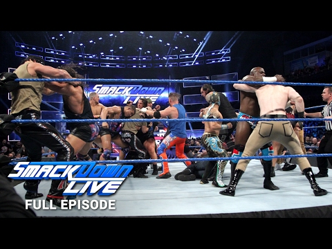 WWE SmackDown LIVE Full Episode, 24 January 2017