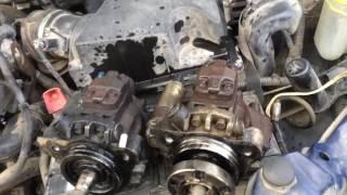 Форд тоурнео коннект 1.8 cdi ослаб насос високого тиску і заміна насоса з розбирання частина 1
