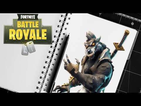 How To Draw Dire Fortnite Skins Fortnite Season 6