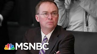 See New Impeachment Evidence Cornering Trump's Top Aide Mulvaney | The Beat With Ari Melber | MSNBC