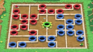 Mario Party 7 All Tricky Minigames - Mario Vs Luigi Vs Peach V…