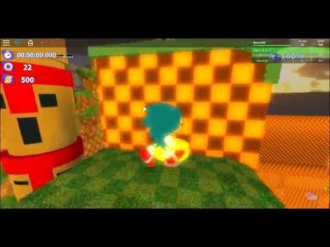 Roblox Sonic Generations #1