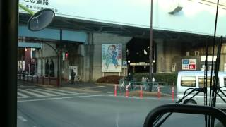 国際興業バス 東練01 東武練馬駅→浮間舟渡駅 前面展望