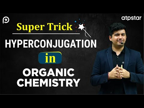 Hyperconjugation in Organic chemistry -IITJEE Concepts in Hindi