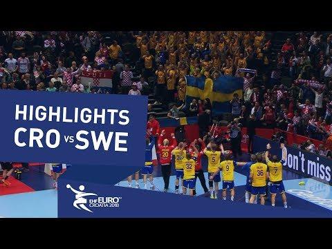 Highlights | Croatia vs Sweden | Men's EHF EURO 2018