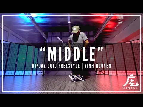 "@djsnake @bipolarsunshine ""Middle"" By Vinh Nguyen (Freestyle) | KINJAZ"