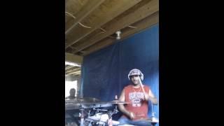 Fat Joe Lean back remix (drum cover)