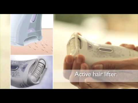 DEPILADORA PHILIPS BEAUTY SATINELLE - YouTube