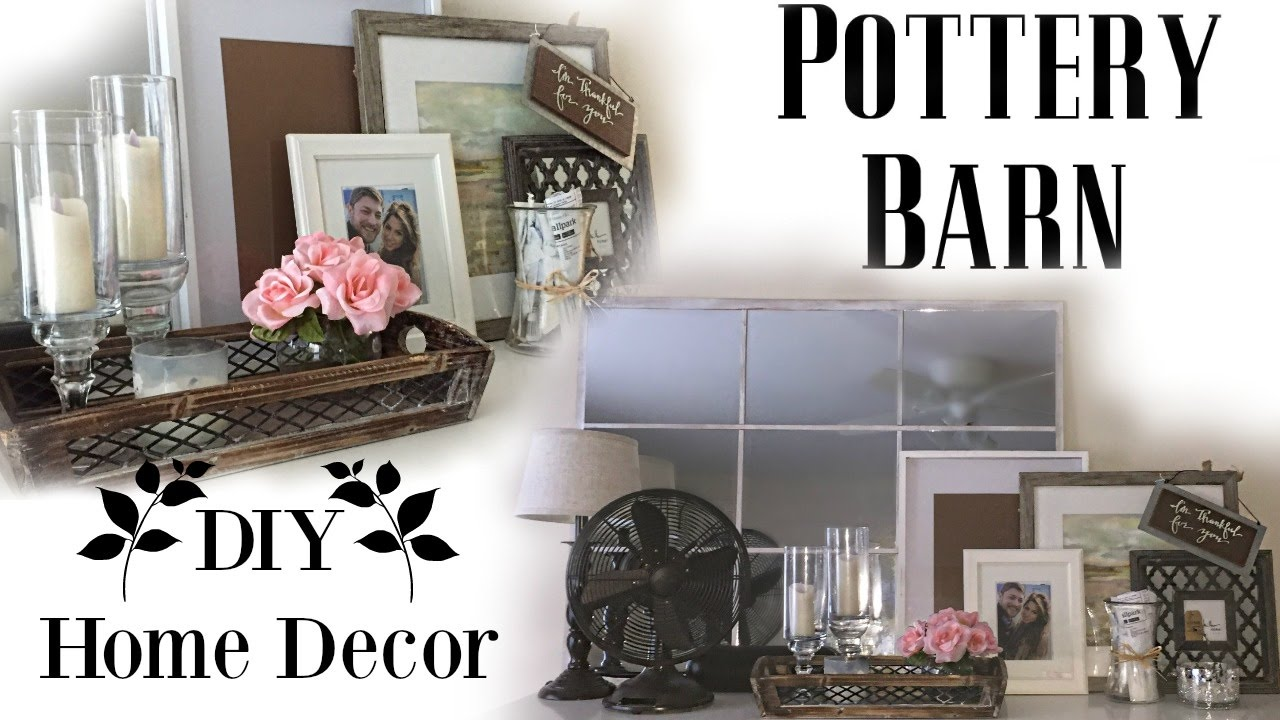 DIY pottery barn inspired Bedroom Decor   BeeisforBudgetDIY pottery barn inspired Bedroom Decor   BeeisforBudget   YouTube. Pottery Barn Inspired Living Rooms. Home Design Ideas