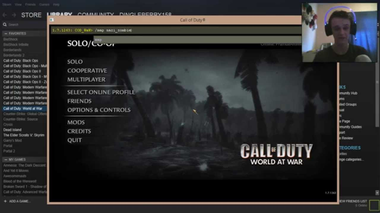 How To Install & Play Custom Zombie Maps in COD World At War - YouTube