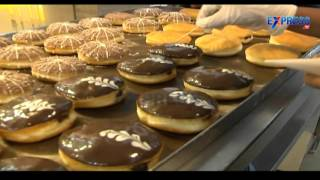 Food Yatra : Preparation of Donuts from Donut House, Somajiguda - Express TV