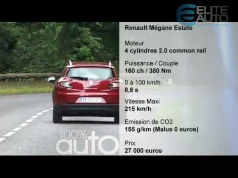 essai renault megane estate youtube. Black Bedroom Furniture Sets. Home Design Ideas