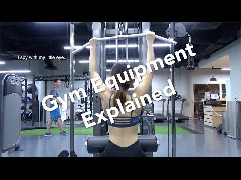 Gym Equipment Explained | How To Use Basic Gym Equipment