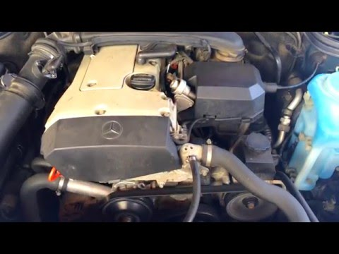 Mercedes-Benz C180 (W202) Cold Start -7.5°C